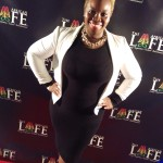 "Johnetta G. Paye, Esq., Founding Partner of J. Paye & Associates Attorneys at Law. One of the sponsors of the African Life ""Queen of Katwae"" screening."