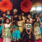 African children's fashion designed by Democratic Republic of Congo Fashion Designer, Patricia Anzhelika Crochet