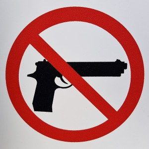 No guns (Photo credit: Pixabay)