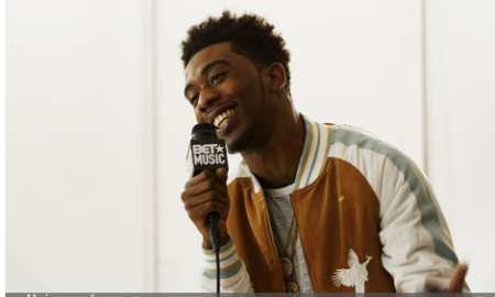 Desiigner attends the BET How To Rock: Denim show - Inside at Milk Studios on August 10, 2016 in New York City. (Photo credit: Bennett Raglin/Getty Images for BET Networks)