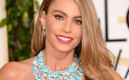 Actress Sofia Vergara attends the 71st Annual Golden Globe Awards held at The Beverly Hilton Hotel on January 12, 2014 in Beverly Hills, California. (Photo credit: Jason Merritt/Getty Images)