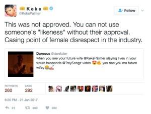 @KekePalmer/Twitter