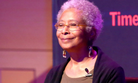 Alice Walker attends 'The Color Purple' TimesTalks: Jennifer Hudson, Cynthia Erivo, Alice Walker, John Doyle at The New School on October 29, 2015 in New York City. (Photo credit: Paul Zimmerman/WireImage/Getty Images)